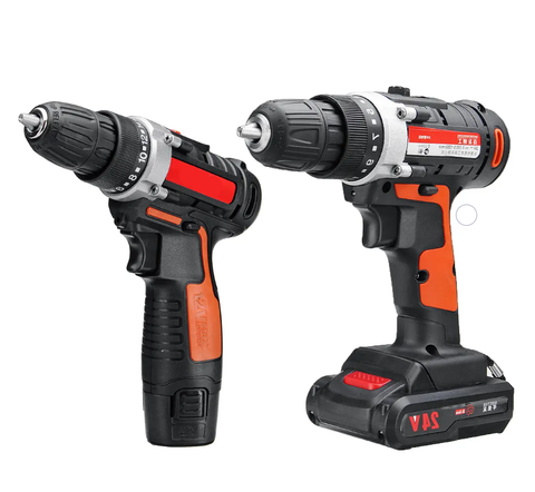 Raitool 12V/24V Cordless Power Drill with Rechargeable Lithium Battery 5