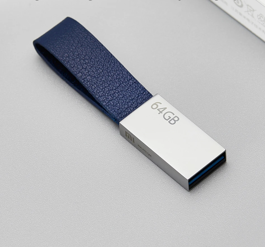 64GB USB3.0 U Disk with Anti Lost Lanyard