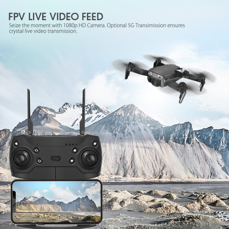Eachine E511S GPS Dynamic Follow WIFI FPV With 1080P Camera RC Drone Quadcopter - 5G WiFi 1080P