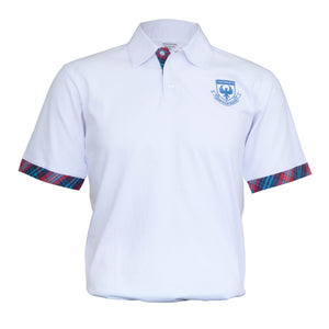 CI White Polo Shirt