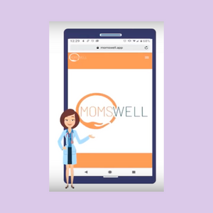 Momswell: A maternal mental health care solution