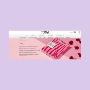 TOTM: An ethical and sustainable period care brand