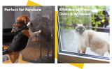 images of dogs and cats with scratch protectors