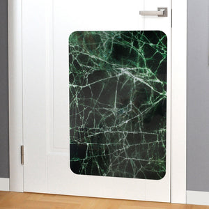 Marble door scratch protector on wall