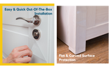 easy installation of pet scratch protector