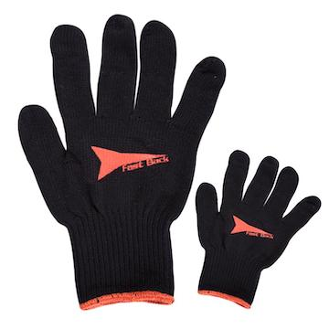 Black Cotton Roping Glove - team-roping-supply.myshopify.com