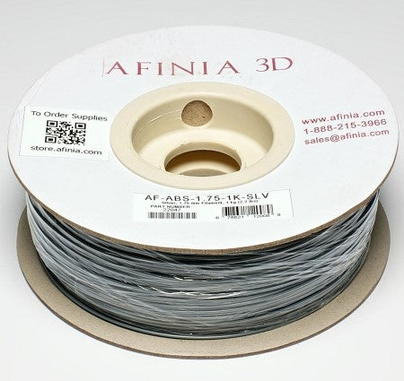 3D Filament 1,75 , Silver 1kg, ABS Value Line