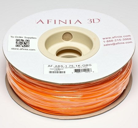 3D Filament 1,75 , Orange 1kg, ABS Value Line