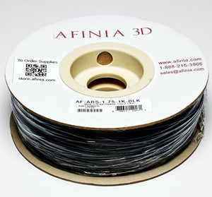 3D Filament 1,75 , Black 1kg, ABS Value Line
