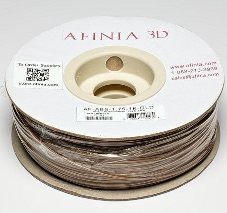 3D Filament 1,75 , Gold 1kg, ABS Value Line