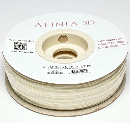 Specialty 3D Filament 1,75 , Glow Green 1kg, ABS Value Line