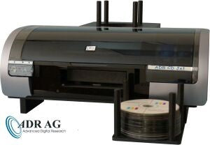 ADR CD Jet, CD/DVD printer with 50 disc bin