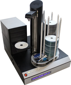 Cyclone 6 CD / DVD copying robot PC connected