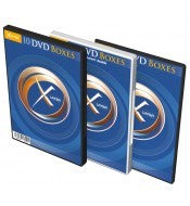 DVD Box 2 DVDs XLAYER transparent 10er