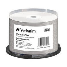 DVD+R 8.5GB Verbatim 8x Thermo white 50er CakeBox