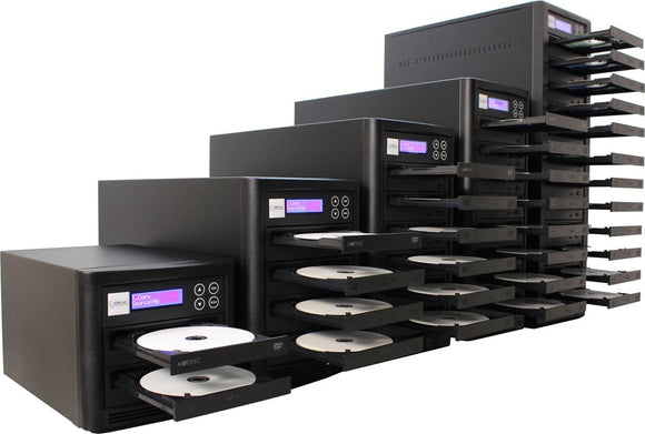 ADR Whirlwind CD/DVD Duplicator with 3 DVD-burners 14