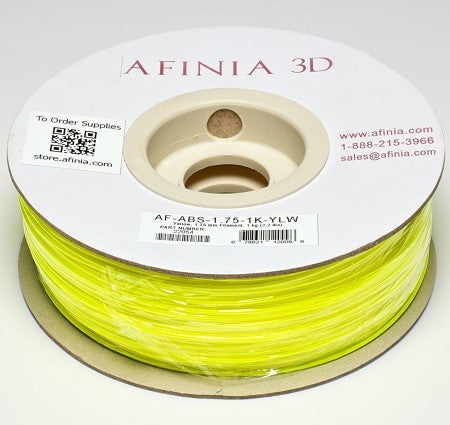 3D Filament 1,75 , Yellow 1kg, ABS Value Line