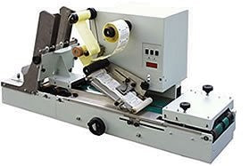 LAB510COF - Automatic Labeler for Coffee Pouches w/ valve, Doypacks