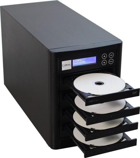 ADR Whirlwind CD/DVD Duplicator with 3 DVD-burners 5