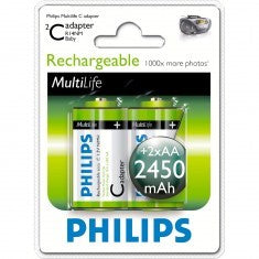Battery Philips Akkus C 2450mAh 2er