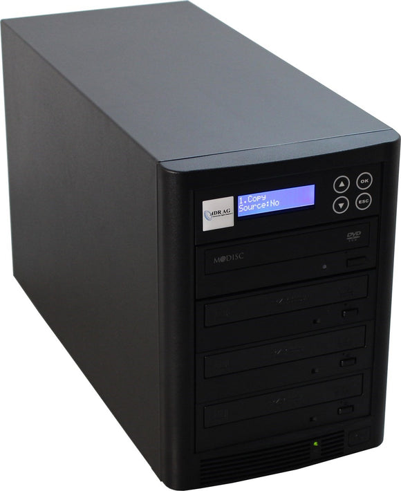 CD/DVD Copytower with 3 DVD-drives LITEON PREMIUM & 1TB HDD