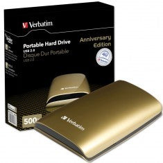"HDD Verbatim 500GB 2.5"" USB Gold Limited"