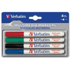 CD-R Pen Verbatim 4er Colour Set