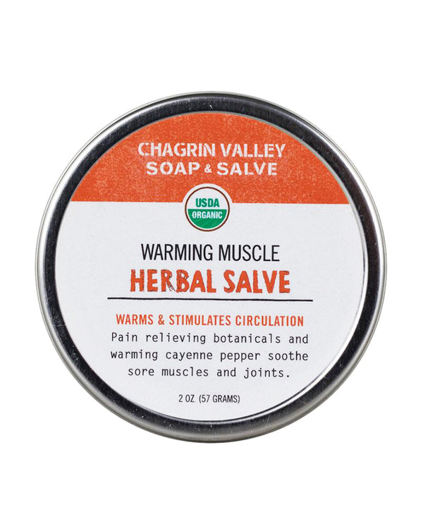 Warming Sore Muscle Salve