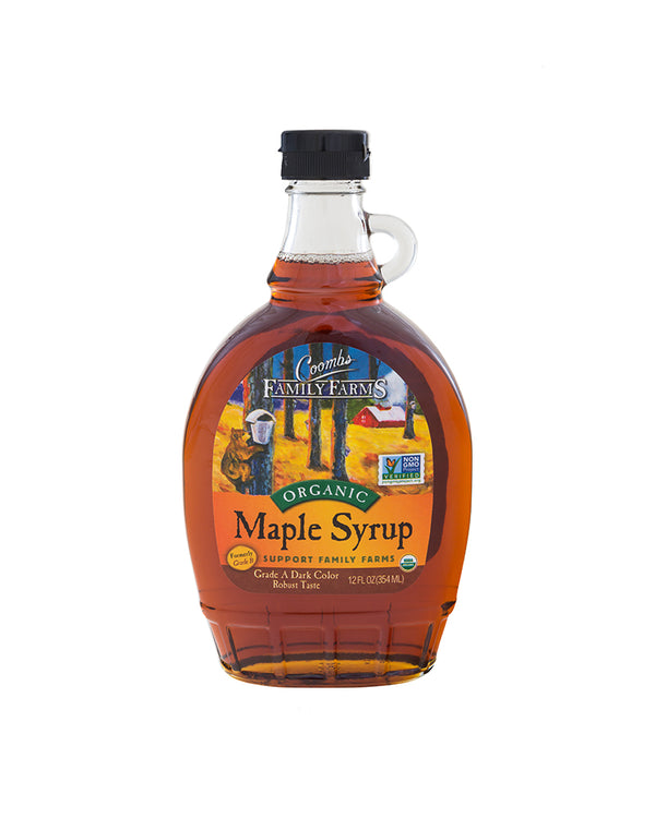Dark Robust Organic Maple Syrup