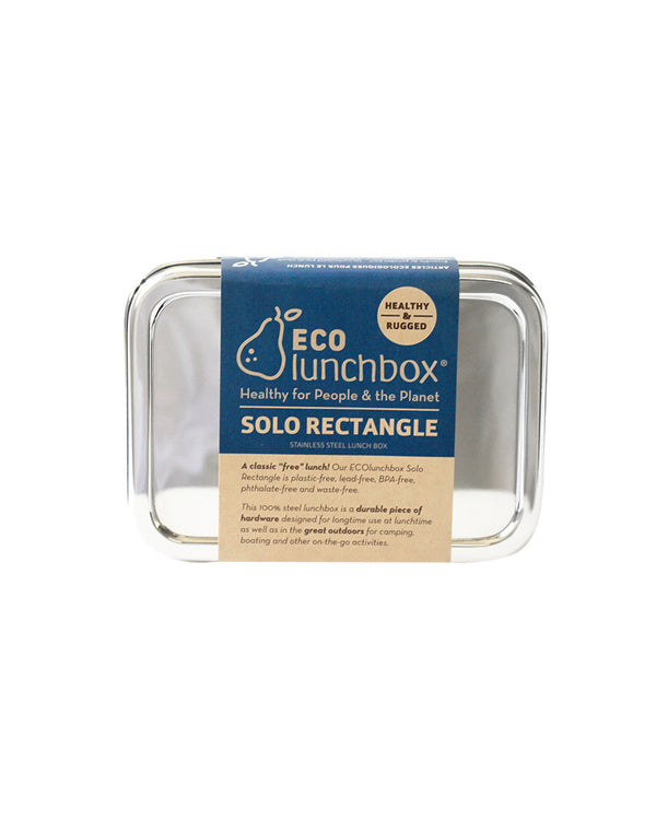 Solo Rectangle Stainless Steel Food Container