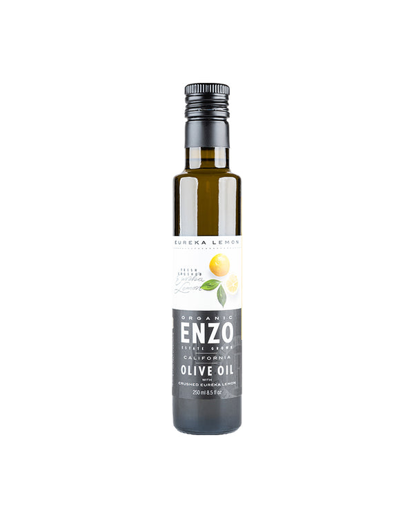 Eureka Lemon Crush Organic California Extra Virgin Olive Oil