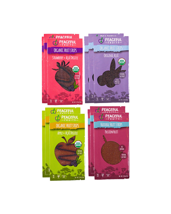 Strawberry Açaí, Original Açaí, Apple Açaí, Passionfruit - Box of 12