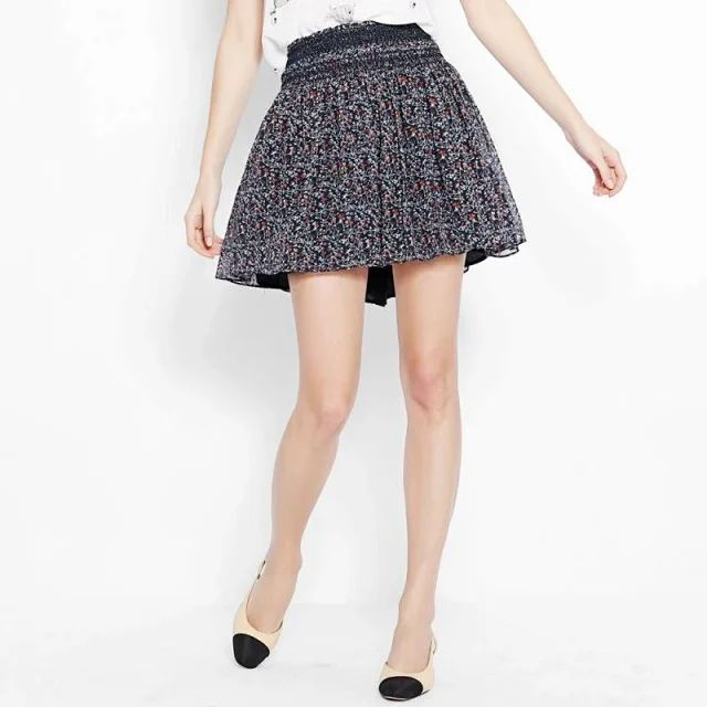 Lace Short Skirt