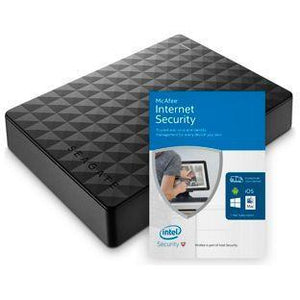 Seagate Expansion 2TB USB 3.0 Portable Hard Drive - Black
