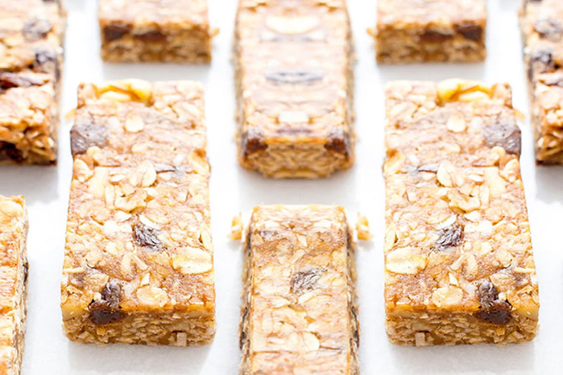 QUICK NO-BAKE GRANOLA BARS FOR RAMADAN