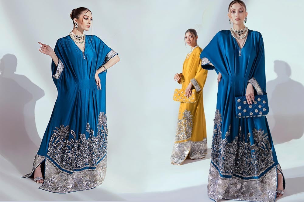 4 Beautiful Kaftans To Rock This Eid