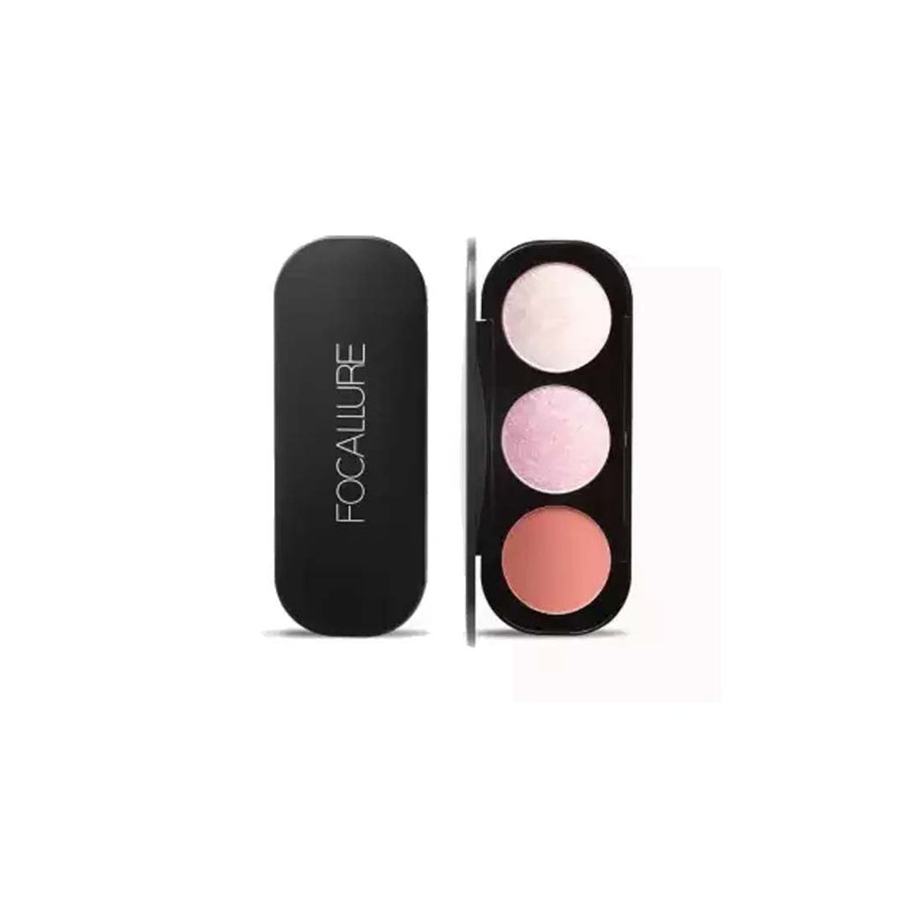 FOCALLURE - Blush & Highlighter Palette - Palette 1