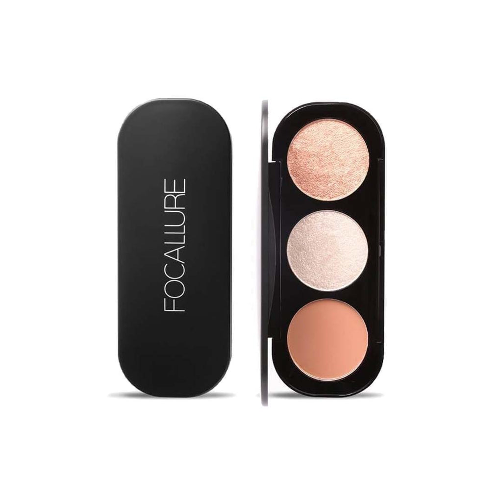 FOCALLURE - Blush & Highlighter Palette - Palette 2