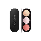 FOCALLURE - Blush & Highlighter Palette - Palette 3