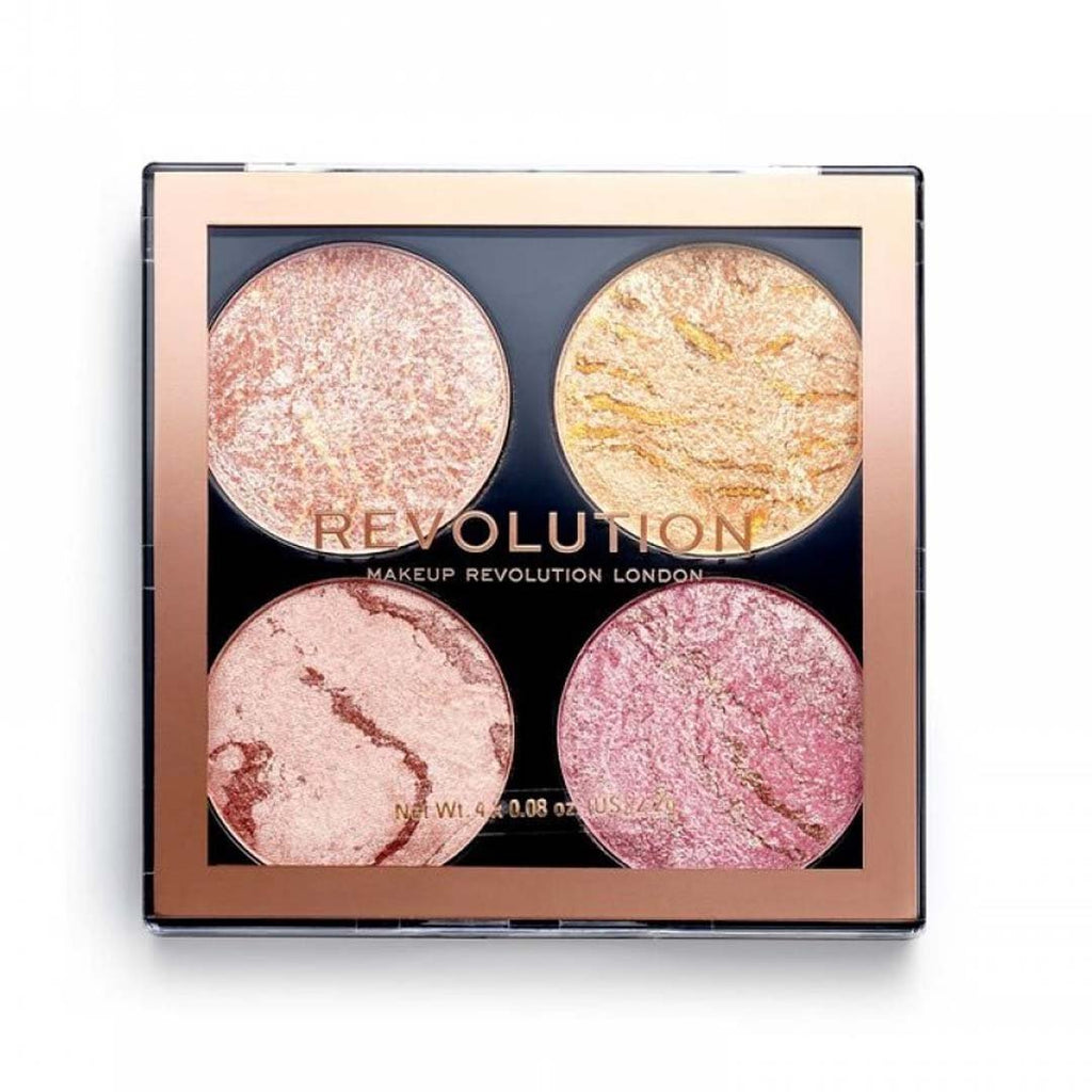 MAKEUP REVOLUTION - Cheek Kit Fresh Perspective - Fresh Perspective