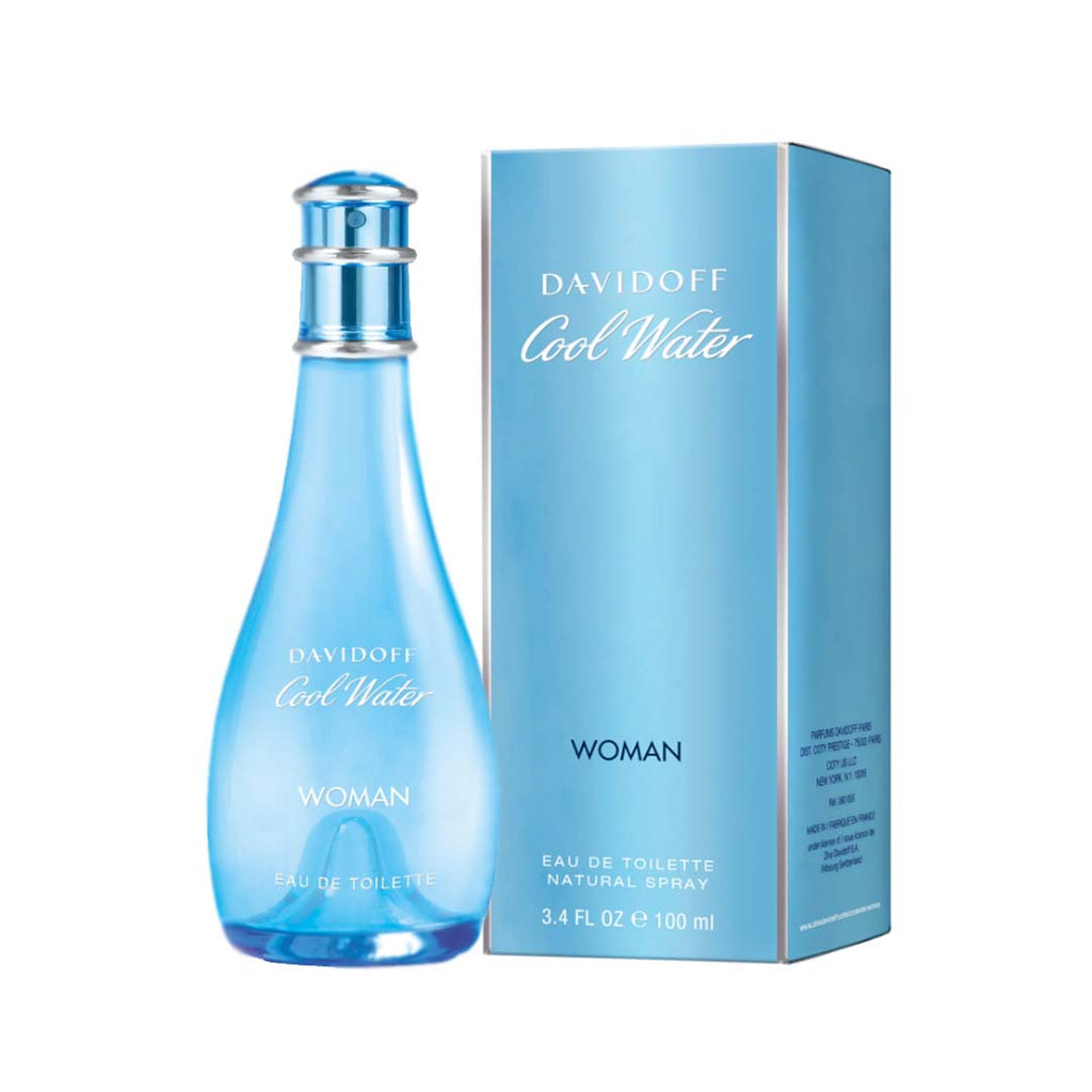 DAVIDOFF - Davidoff Cool Water Woman Eau de Toilette Spray - 100ml