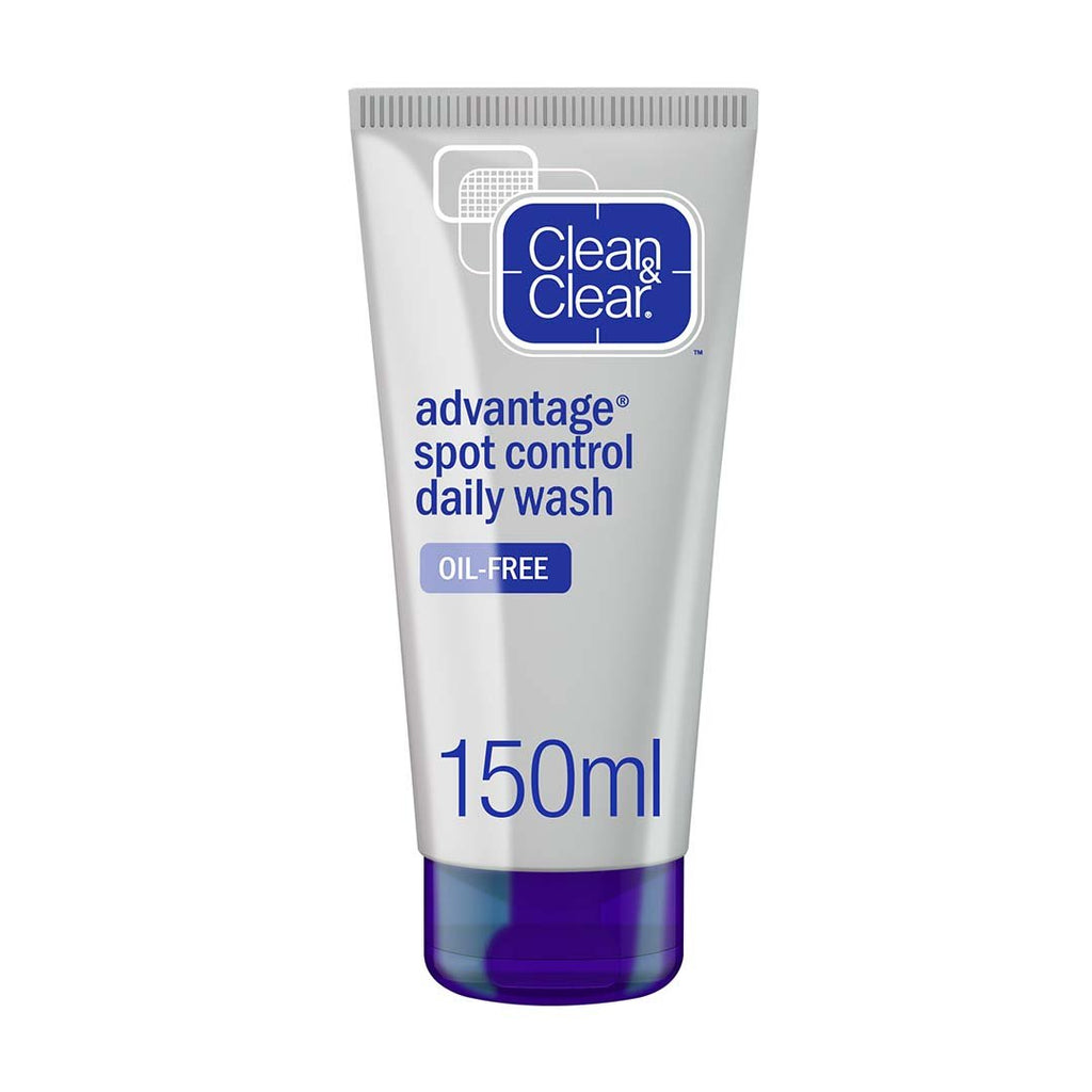 CLEAN & CLEAR - Daily Facial Wash, Advantage, Spot Control - 150ml