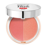 PUPA MILANO - Extreme Blush Duo Dual Effect Comp Blush Matt Salmon - Radiant Peach