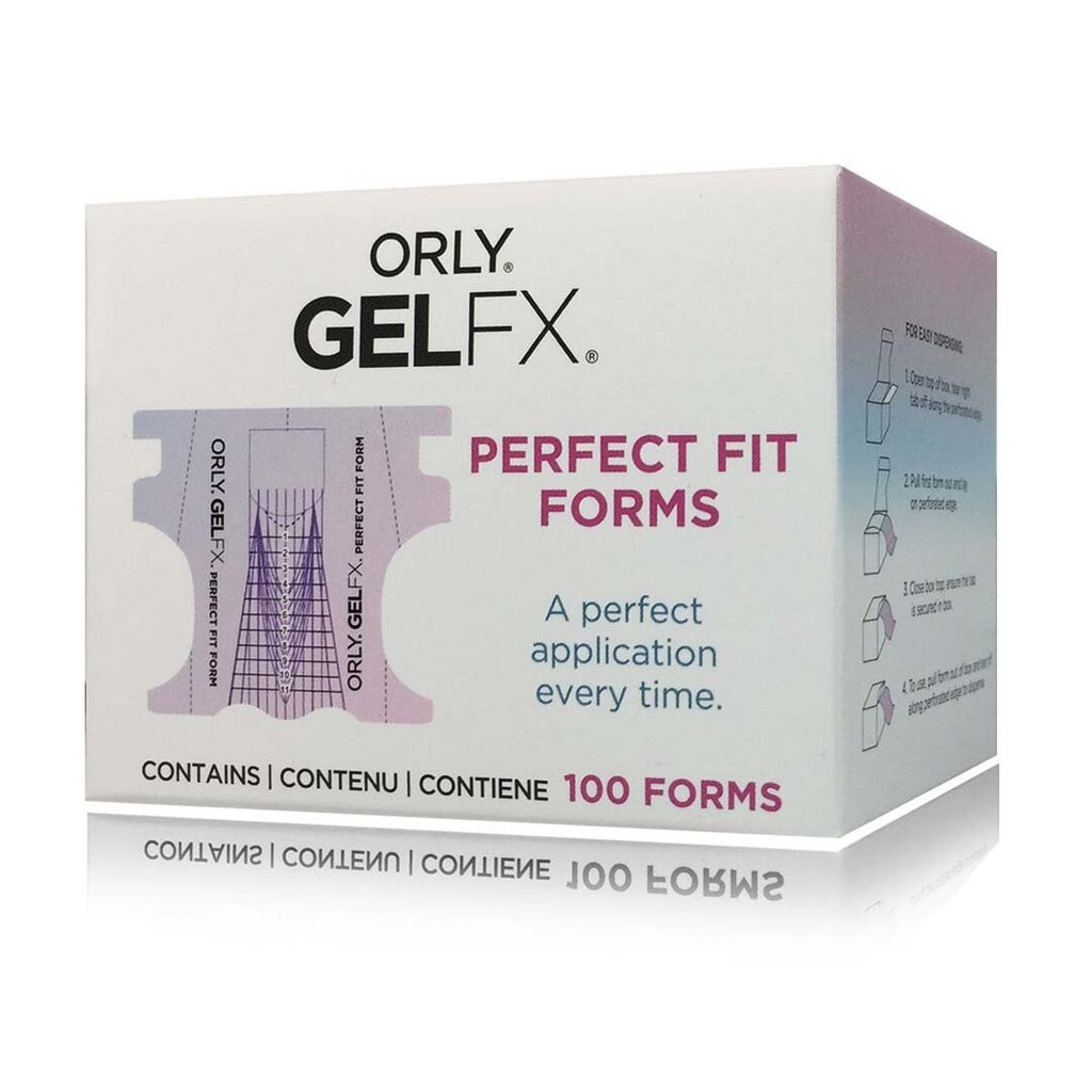 ORLY - Gel FX Perfect Fit Forms 100 Pcs