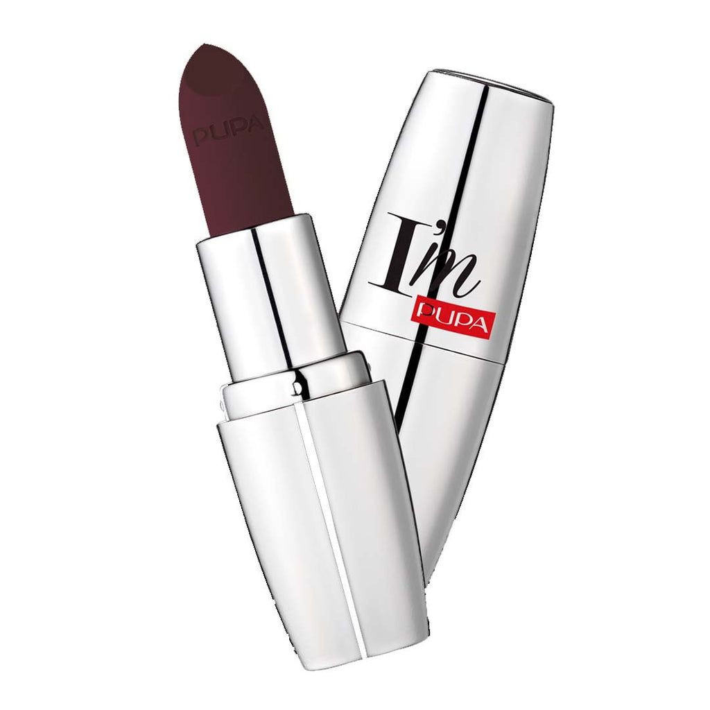 PUPA MILANO - I'M Matt Pure Color Lipstick Ultimate Matte - Bewitched Plum