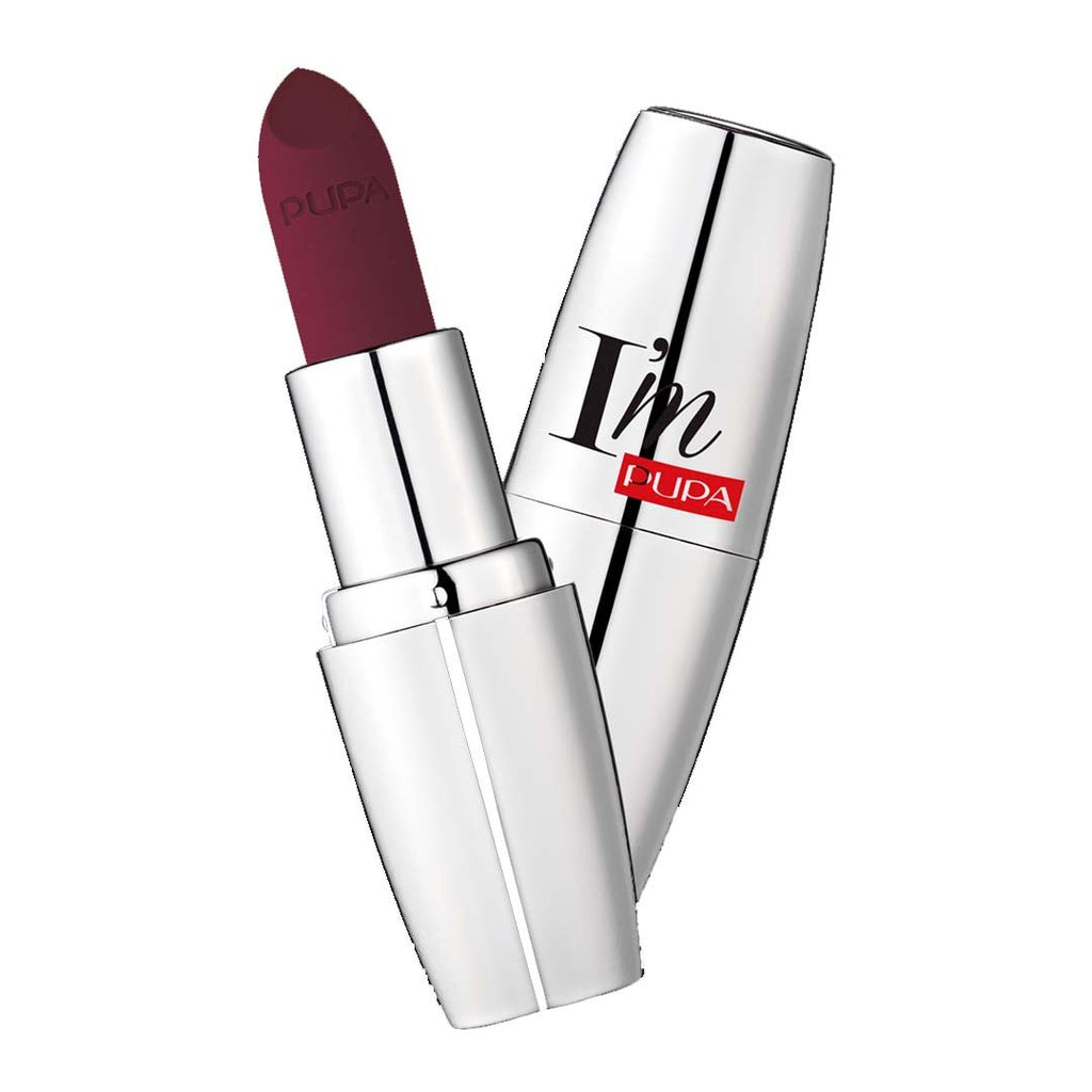 PUPA MILANO - I'M Matt Pure Color Lipstick Ultimate Matte - Dangerous Violet
