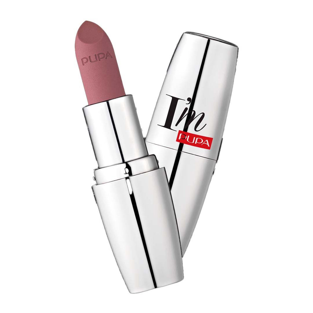 PUPA MILANO - I'M Matt Pure Color Lipstick Ultimate Matte - Intense Nude