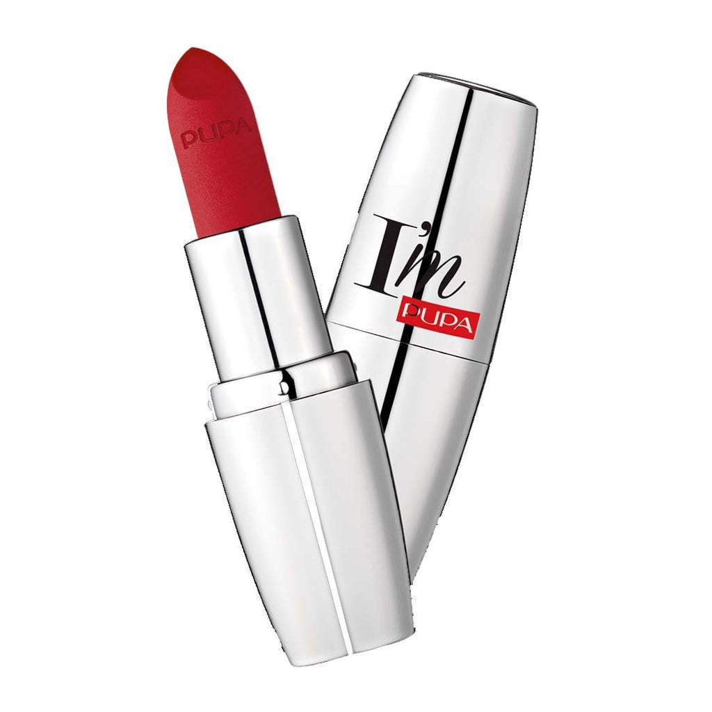 PUPA MILANO - I'M Matt Pure Color Lipstick Ultimate Matte - True Red