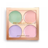 MAKEUP REVOLUTION - Matte Base Corrector Kit