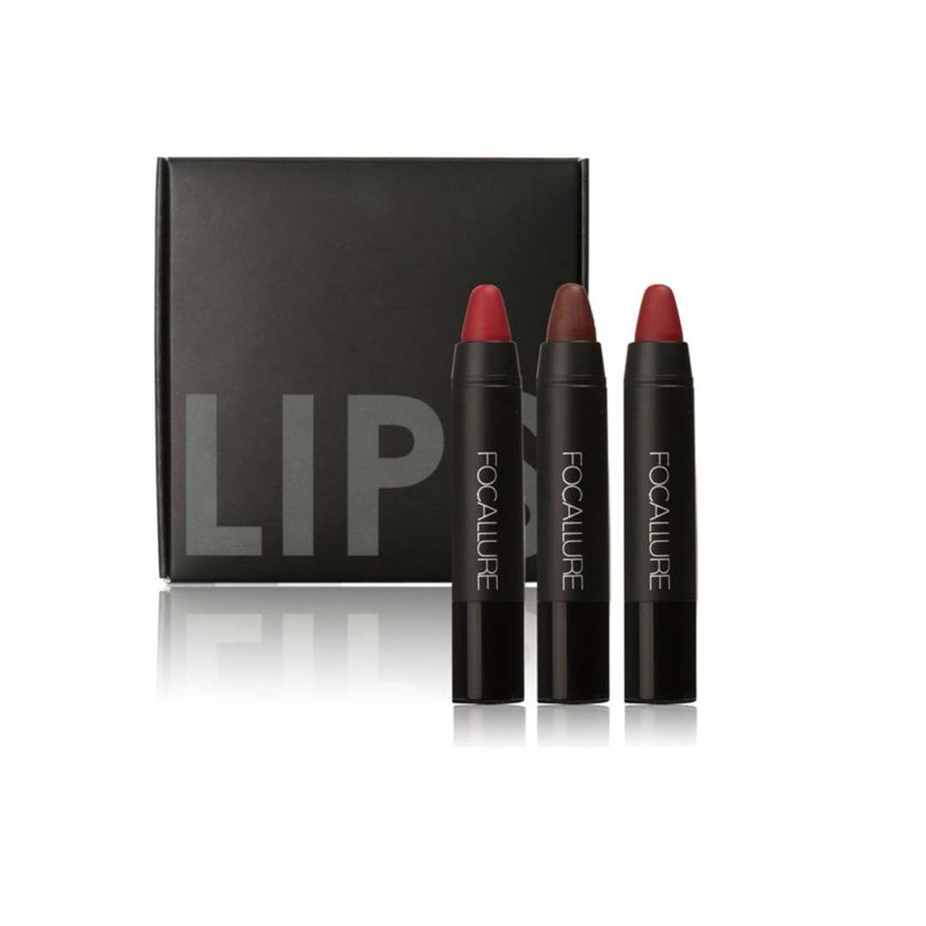 FOCALLURE - Matte Lips Crayon - Kit 1